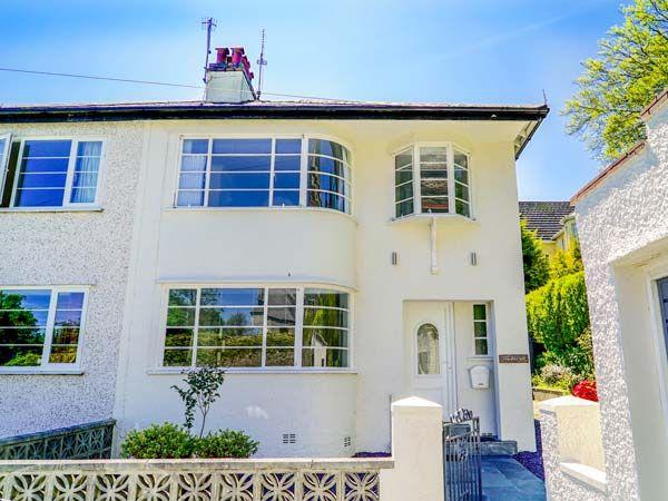 the art deco house a holiday cottage in gwynedd wales british